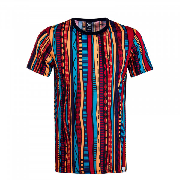 Herren T-Shirt Theodore Black Multi