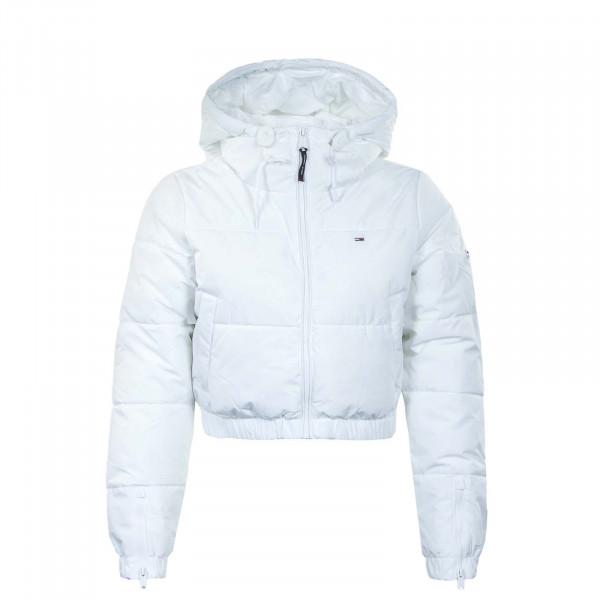 Damen Daunenjacke - Jkt Cropped Puffer 11104 - White