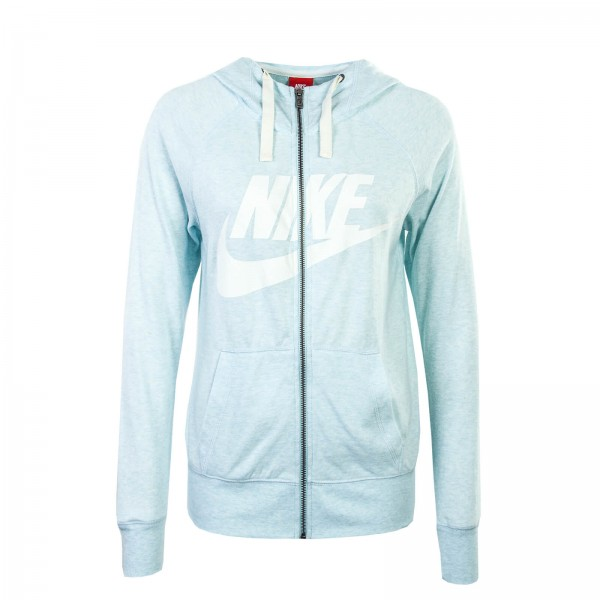Nike Wmn Sweatjkt NSW GYM Blue White