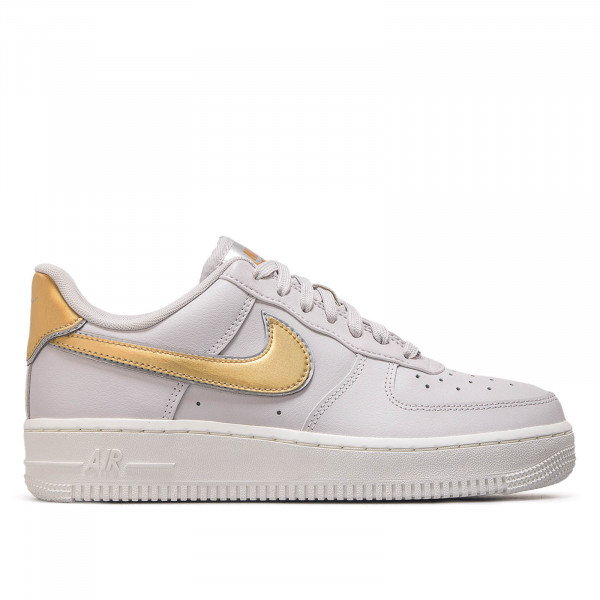Nike Wmn Air Force 1 '07 Grey Gold
