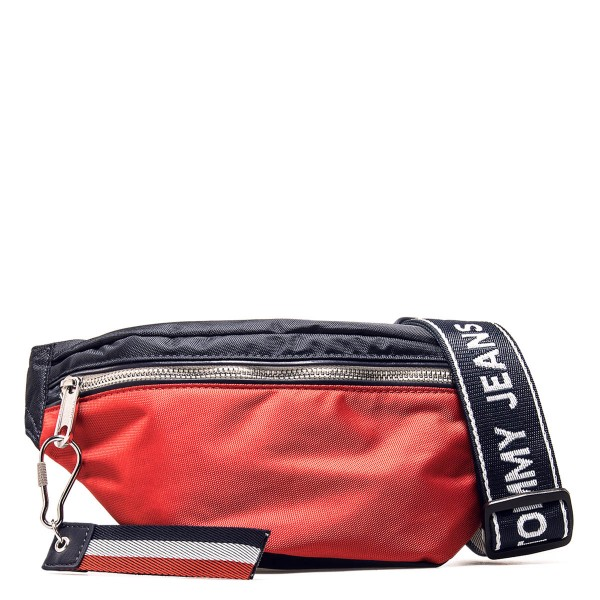 Tommy Hip Pack Logo Bum Navy Red