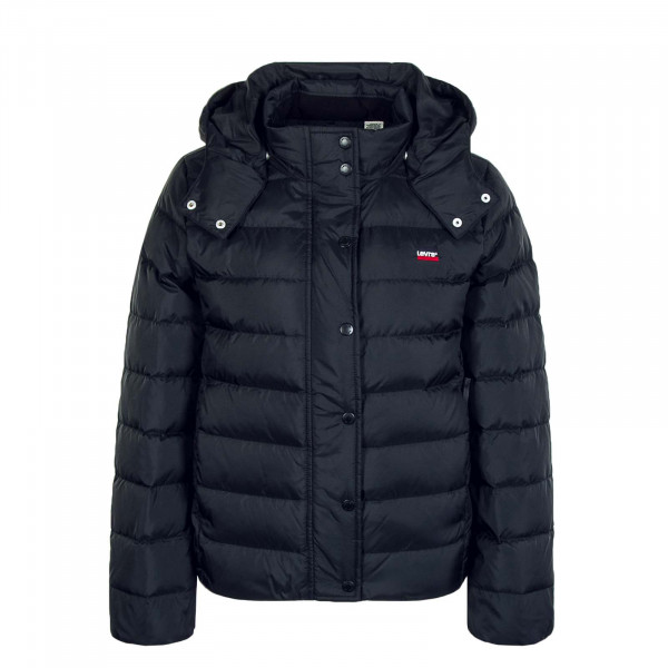 Damenjacke Core Down Puffer Caviar Black