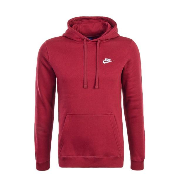 Nike Sweat NSW CRW Bordo White