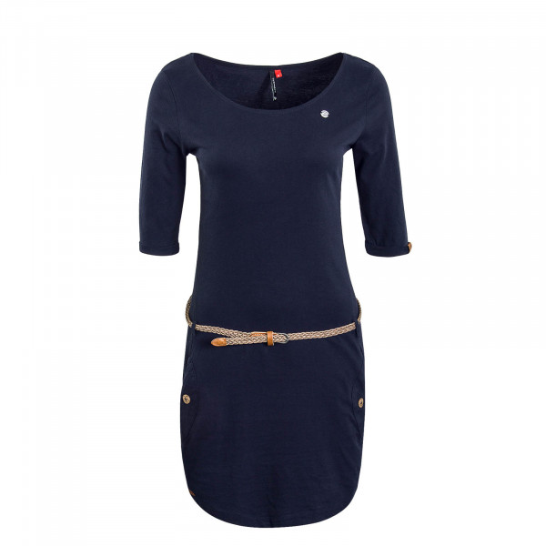 Dress Tanya Solid Navy