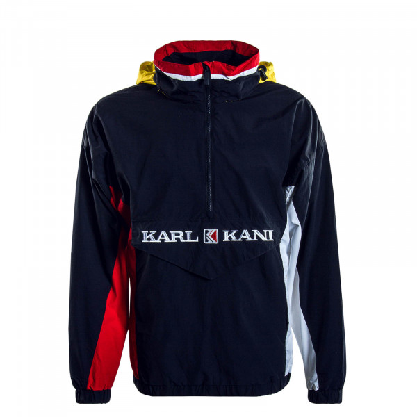 Herren-Windbreaker Retro Block Navy Red White