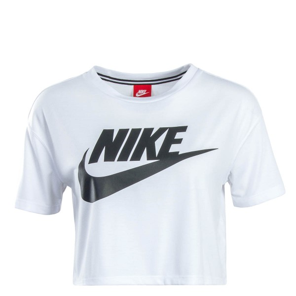 Nike Wmn Crop Top NSW Essential Wht Blk