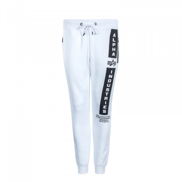 Herren Joggingpant Defense White Black