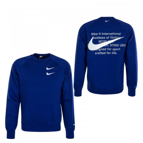 Herren Sweater Swoosh 4865 Royal Blue