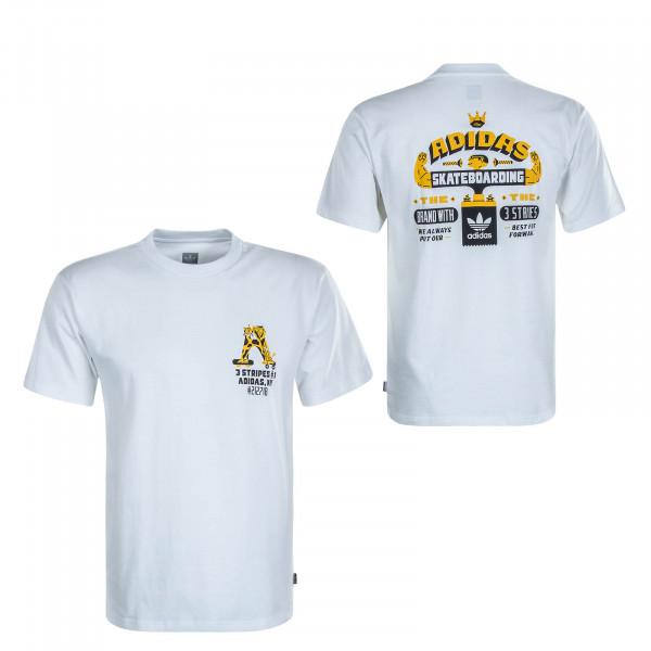 Herren T-Shirt SK FOOTFRWD White