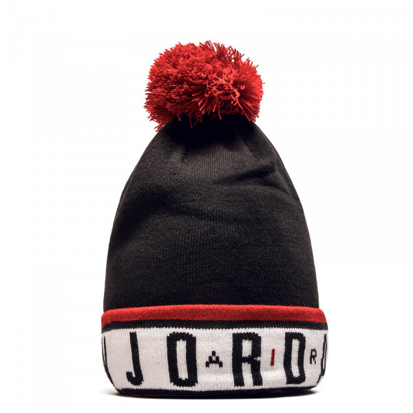 Beanie CK1264 Black Red White