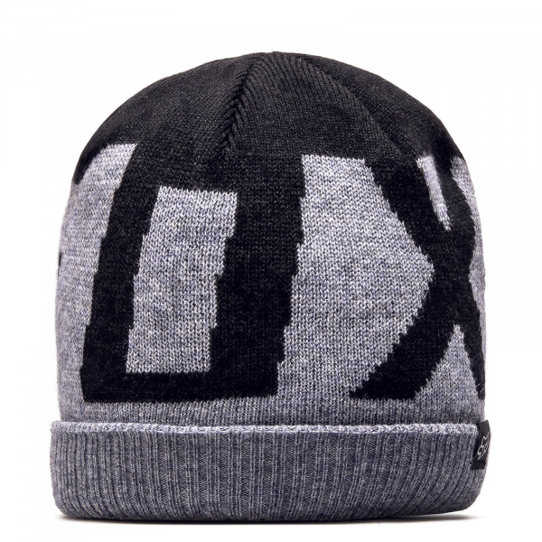 Fox Beanie Ridge Grey Black