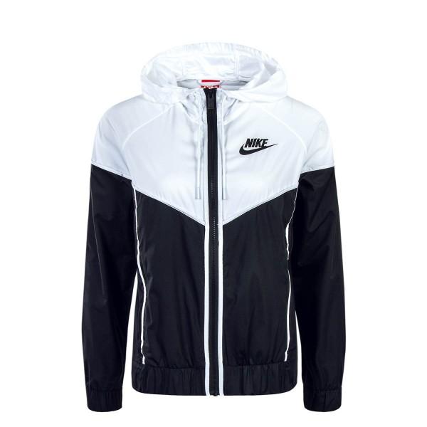 Nike Wmn Jkt NSW Windrunner Black White
