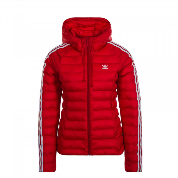 Damen Jacke Slim Red White