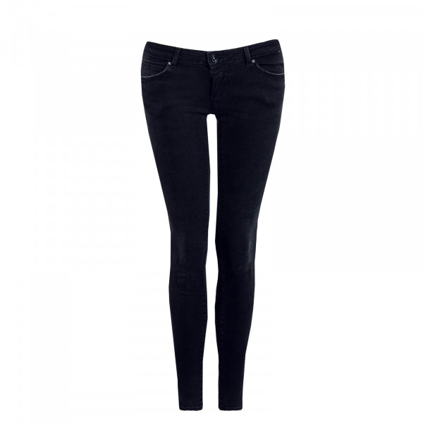 Damen Hose Coral Black Denim