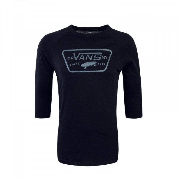 Vans LS Full Patch Raglan Black Black