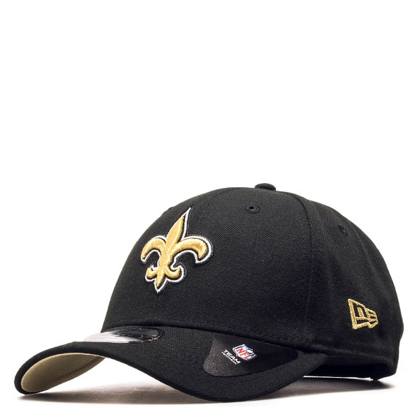 New Era Cap Saints Black Gold