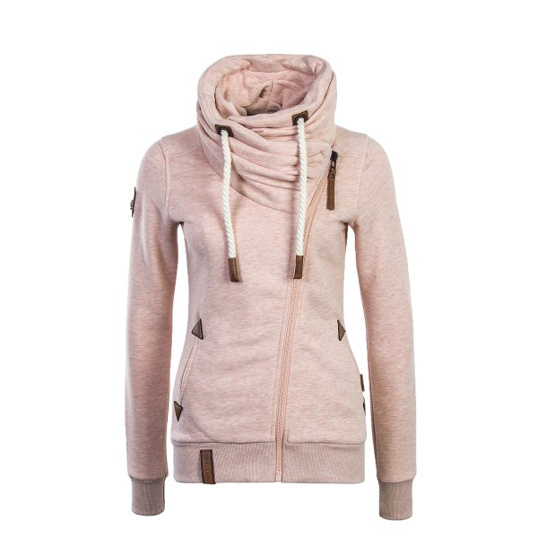Naketano Wmn Sweatjkt Jedi Path Pink