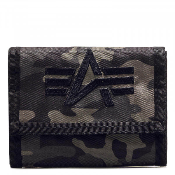 Wallet 919 Black Camouflage