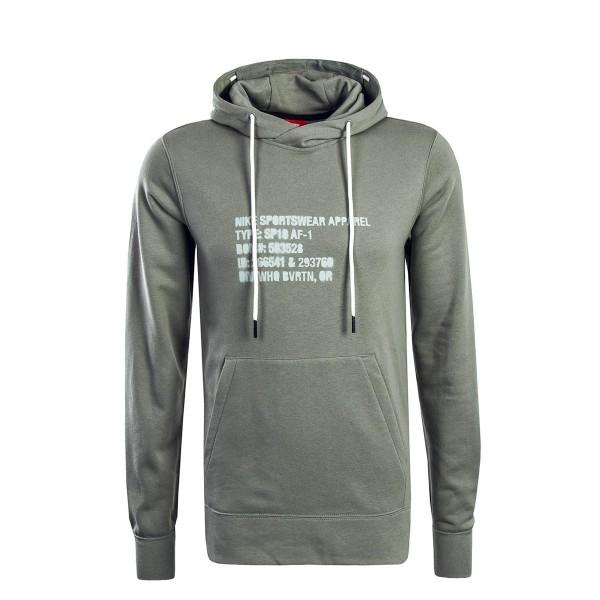 Nike Hoody NSW PO FT AF1 Dark Grey