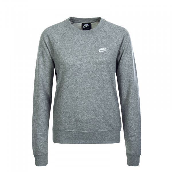 Damen Sweatshirt 4110 Crew Grey White