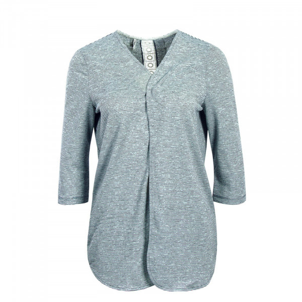 Damen Cardigan Mira Stripe Blue Beige
