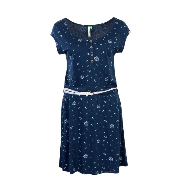Ragwear Dress Zephie Organic Denim Blue