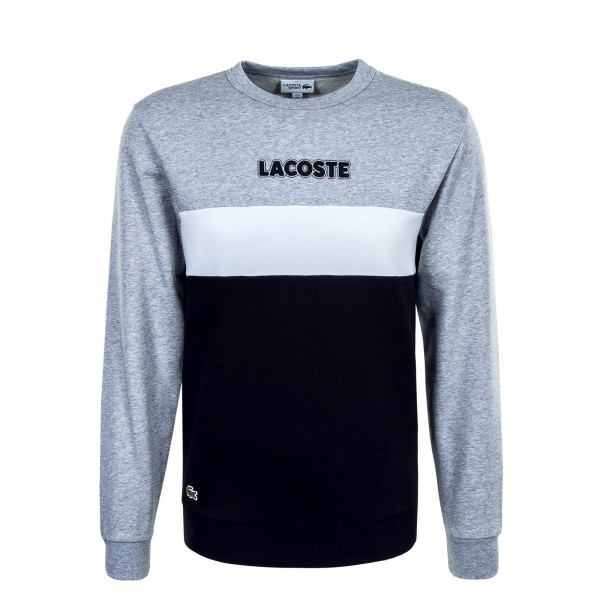 Herren Sweatshirt SH1538 SJ1 Grey White Black