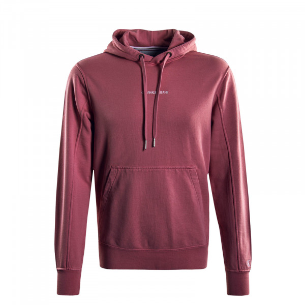 Herren Hoody Institutional Chest Logo Rosa