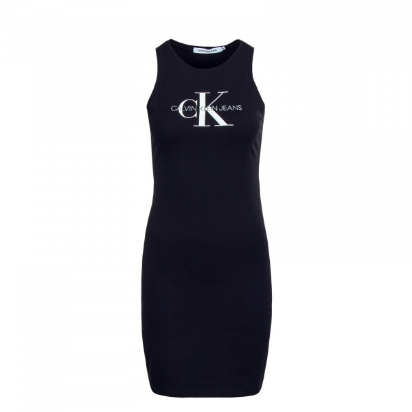 Kleid Monogram Stretch Black