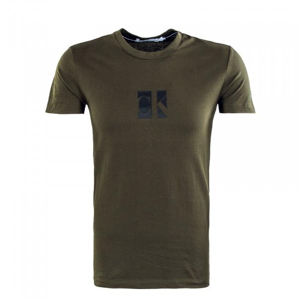 Herren T-Shirt - Small Center CK Box - Deep Depths