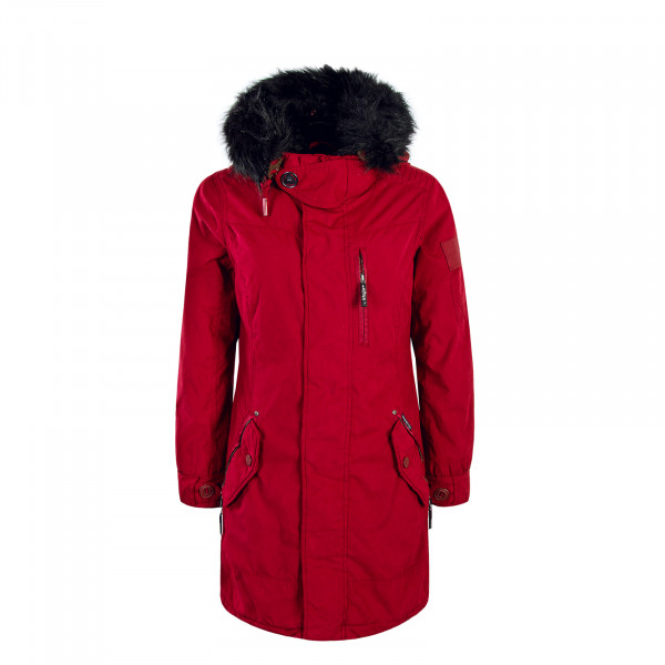 Khujo Wmn Jacket Babette Red