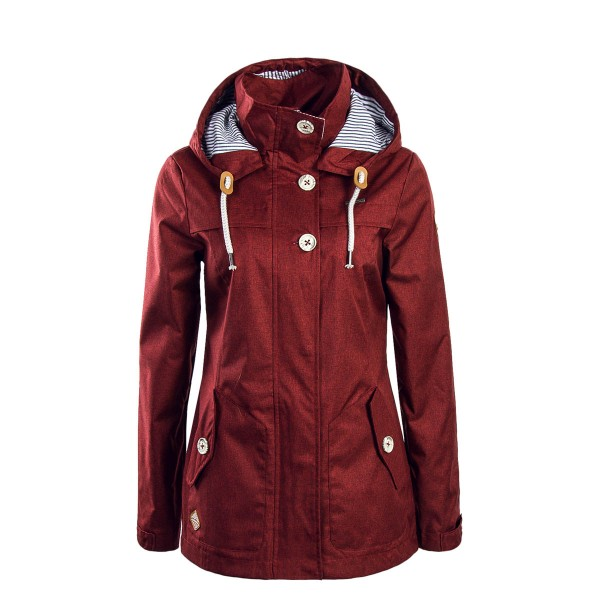 Ragwear Wmn Jkt Like You Bordo