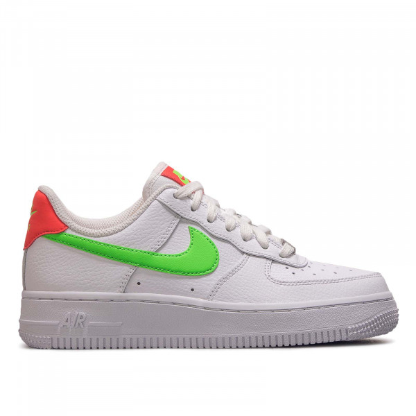 Damen Sneaker Air Force 1 07 White Laser Crimson