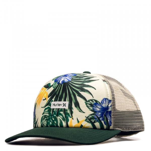 Trucker-Cap W OAO Small Box Hat Beige Green