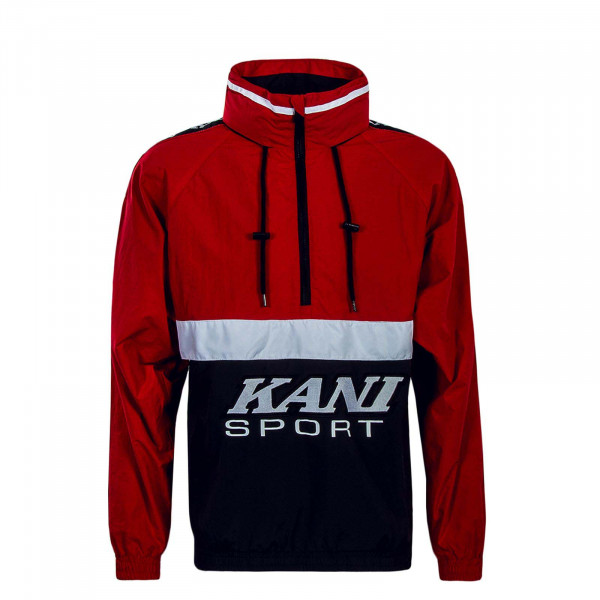 Herren Windrunner Sport Block Red Black