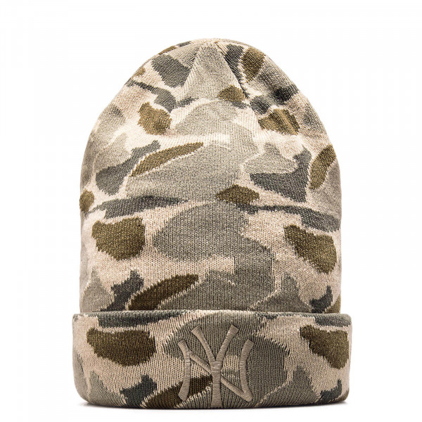 New Era Beanie Cuff NeyYan Camo Grey