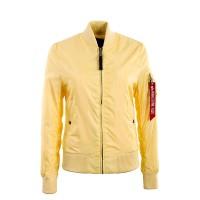 Alpha Wmn MA 1 TT Yellow