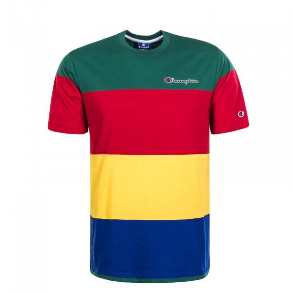 Herren T-Shirt  352 Green Red Yellow Blue