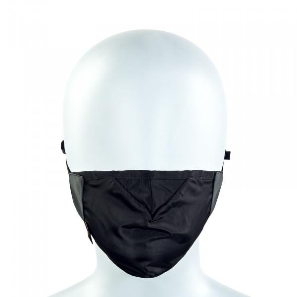 Alltagsmaske - Blackout Face Mask - Black