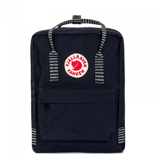 Fjäll Räven Backpack Kanken Black Stripe