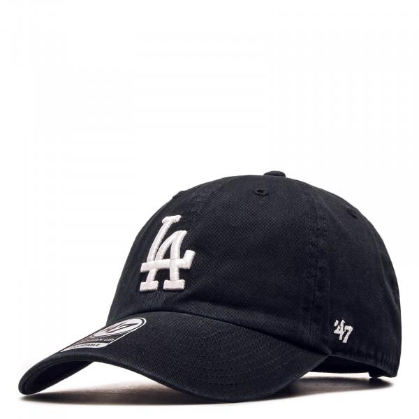 Cap LA Dodgers Black White