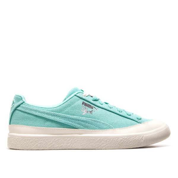 Puma Clyde Diamond Mint  White