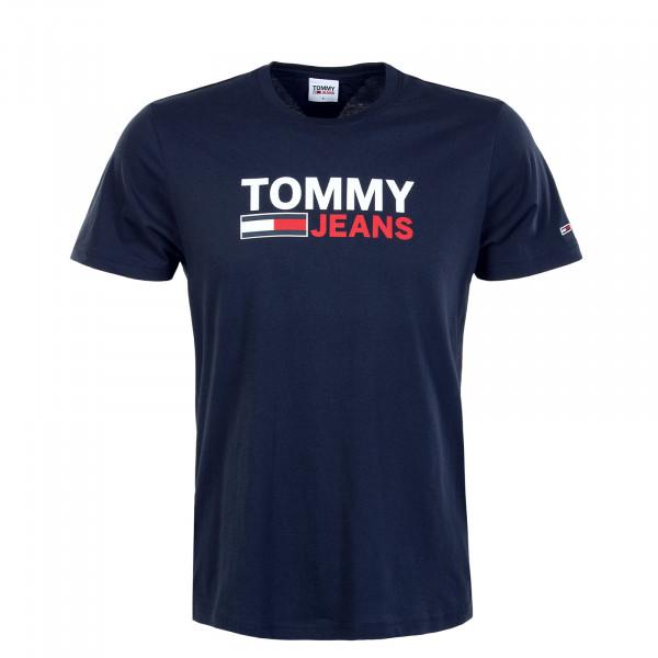 Herren T-Shirt - Corp Logo Tee 10214 - Twilight Navy