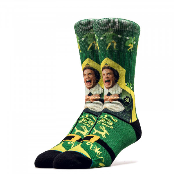 Socken Foundation I Know Him Green