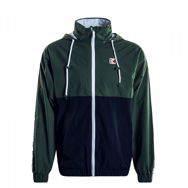 Herrenjacke Retro Tape Green Navy