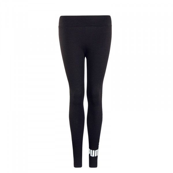 Damen Leggings Logo Black