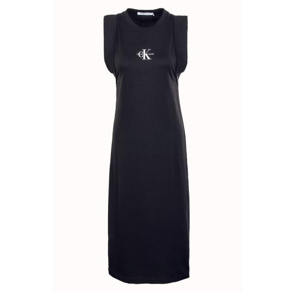 Damen Kleid - Knotted 6271 - Black