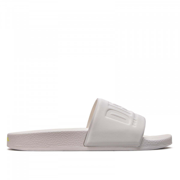 Diesel Slide Valla Star White Yellow