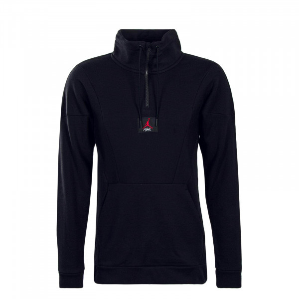 Jordan Sweat Flight Loop 1/4 Zip Black
