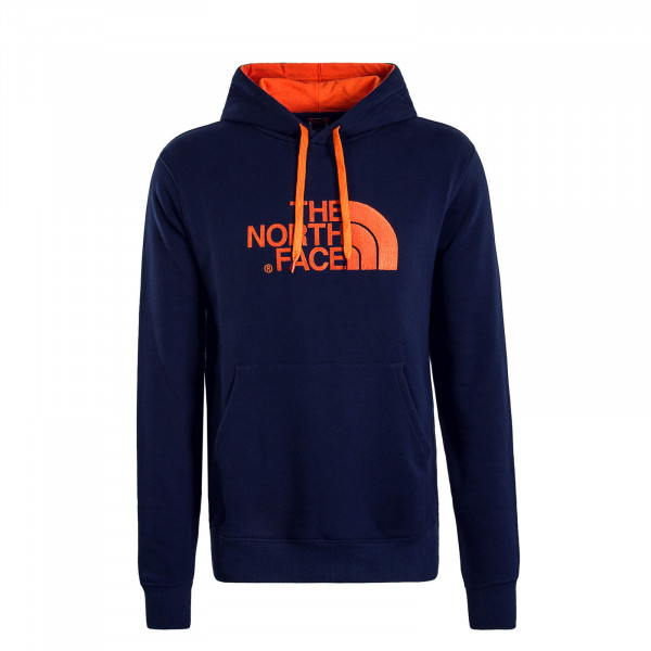 Herren Hoody Drew Peak Navy Orange